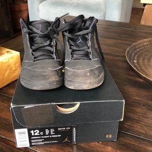 Nike Boys Jordan High Tops size 12